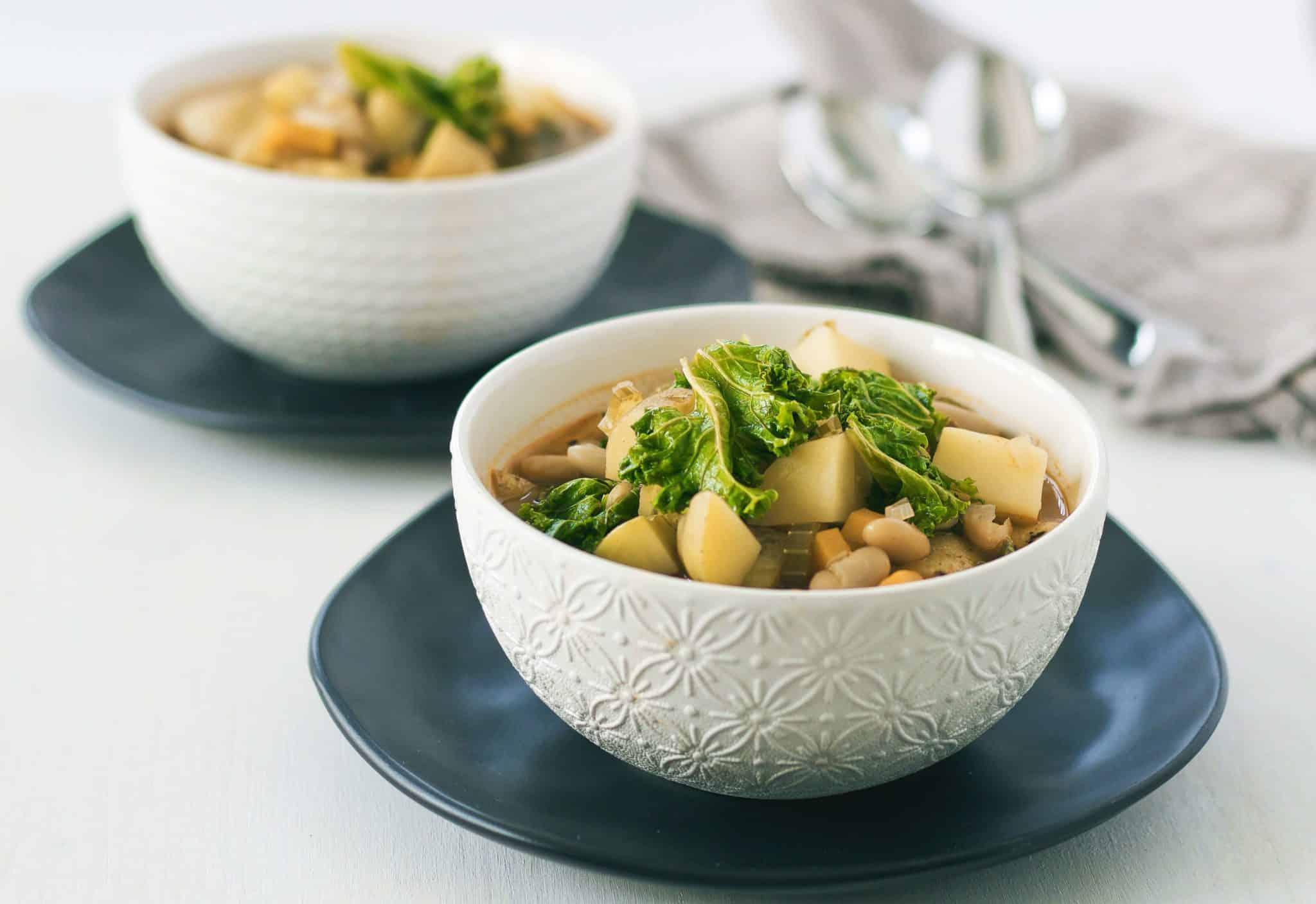 Potatoes & Kale soup