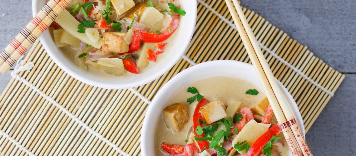 15 minutes yellow curry tofu (VeGaN)