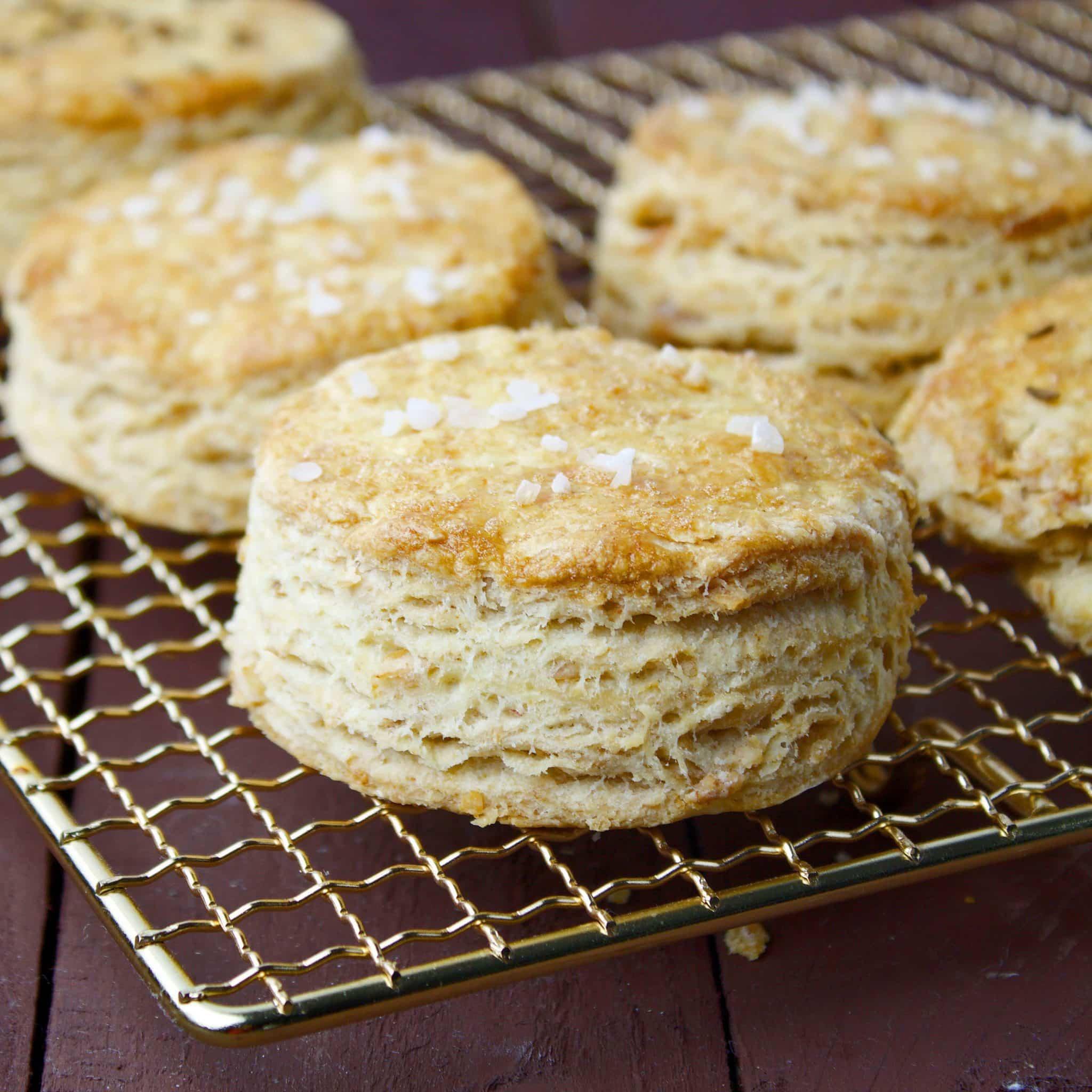 Crackling scones – a Hungarian classic
